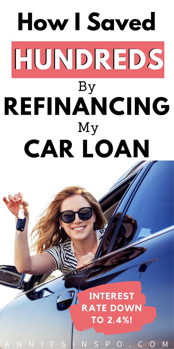refinance my car loan