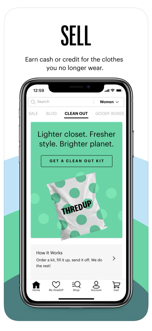 Best app to sell clothes